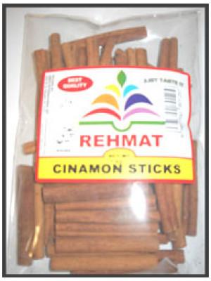 Cinnamon Sticks Round 100g  Dar Chini Rehmat Brand