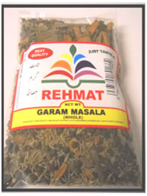 Garam Masala Whole 200 Grams 7 OZ Rehmat Brand