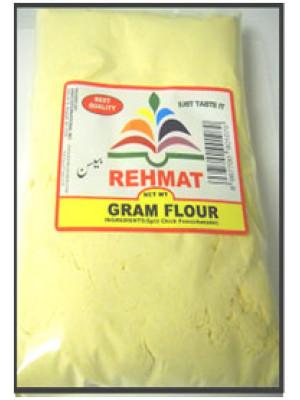 Besan Superfine Gram Flour 4 LB  1.81 KG Rehmat Brand