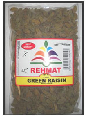 Green Rasin Kishmish 7 Oz 200 gm Rehmat Brand