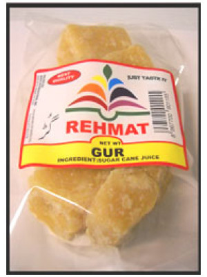 Gur Brown Jaggery  500 gm Rehmat Brand