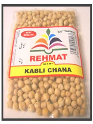 Chick Peas -Kabli Chana - Garbanzo 500 g, 1 kg, 2 kg Rehmat Brand