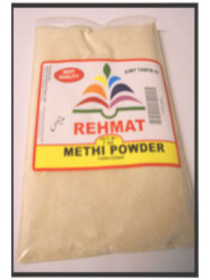 Methi Powder or Fenugreek Powder 7 OZ 200gm Rehmat Brand