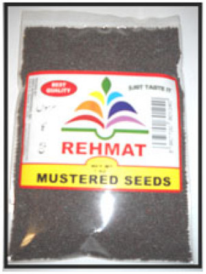 Mustard Seeds 7 OZ (200 Grams)  Rehmat Brand