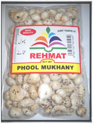 Phool Makhana (Fox Nut) 3.5OZ  Rehmat Brand