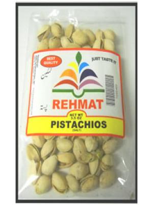 Pistacho Whole Salted 7 oz 200 gm Rehmat Brand
