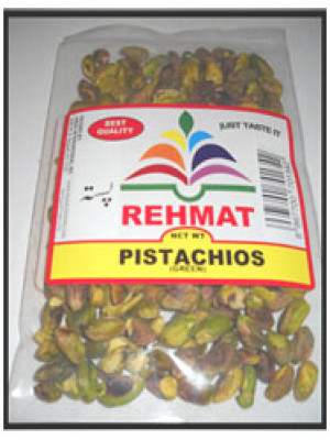 Pistacho Green Nuts 50 gm 100 gm 200 gm (Rehmat Brand)