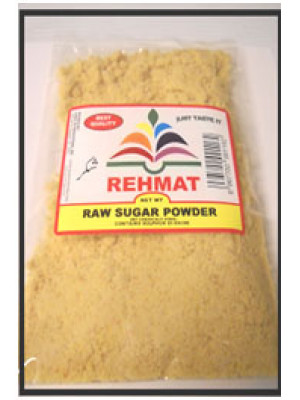 Shakar Jaggery Powder 7 OZ Brown Sugar 200 Grams  Rehmat Brand