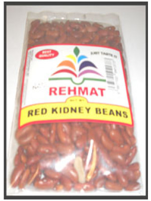 Red Kidney Beans Rajma Light 2 LB 0.9 KG Rehmat Brand