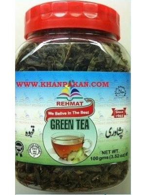 GREEN TEA PESHAWARI QAHWA 100GM Rehmat Brand