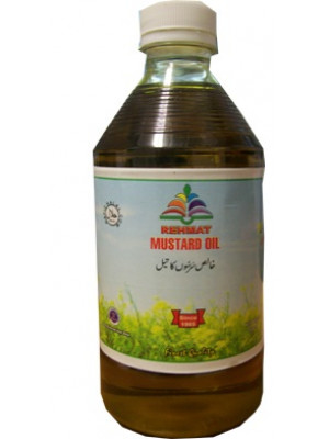 MUSTRED OIL Rehmat Brand 1000 ML PLASTIC BOTTEL