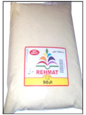 Sooji (Wheatlets) 4 LB 1.814 KG Rehmat Brand