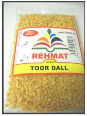 Toor Dal (Split Pigeon Peas) 500 g 1 kg 2 kg Rehmat Brand