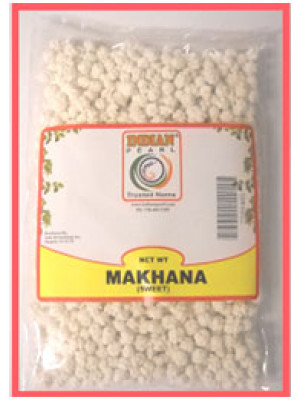 Sweet Makhana 200 Grams (7 oz)  Indian Pearl Brand