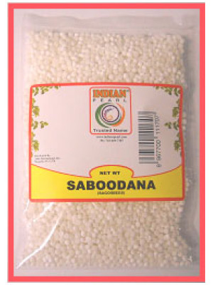 Sabudana 7 OZ  (200 gm)  Indian Pearl Brand