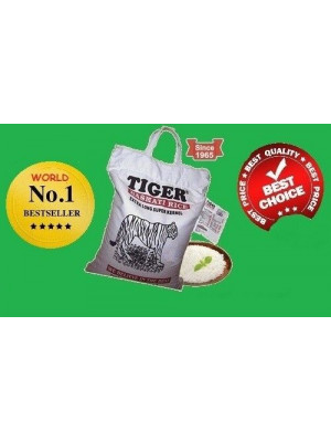 Basmati Rice - Best Quality 10 Kg Tiger Brand | Free post in UK